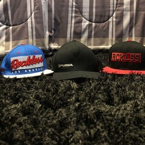 2 Reckless and a Purge hat.